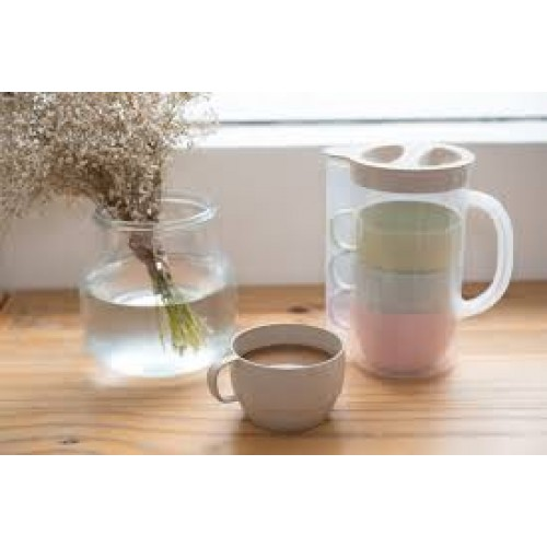 Wheat Straw Jug with Mug GP-W006