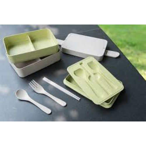 Wheat Straw Bento Box GP-W011