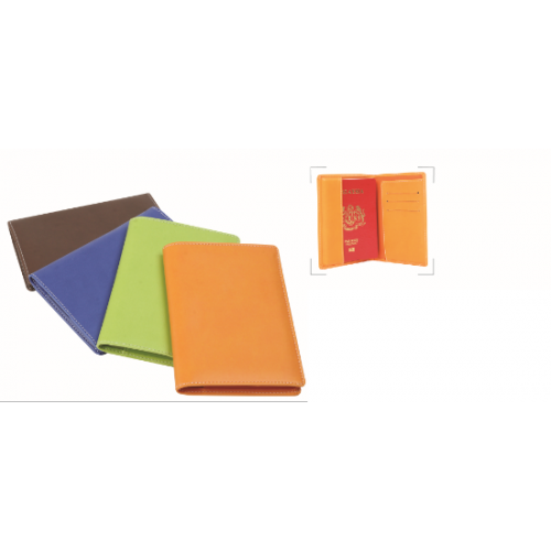 Colourful PU Passport Holder