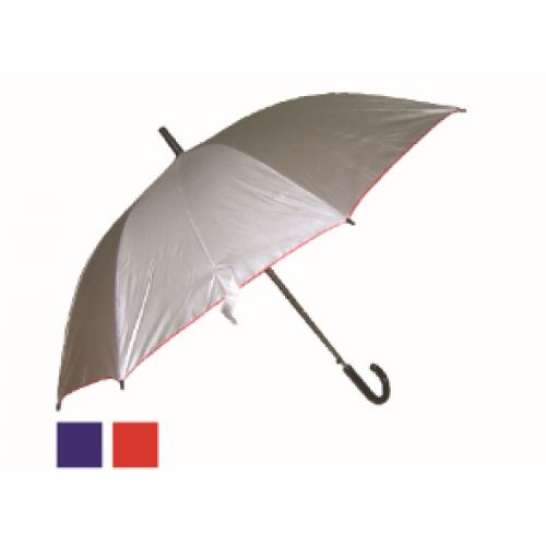 "24"" Silver Coated Umbrella"