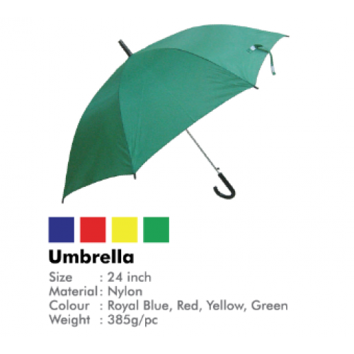 "24"" Plain Umbrella"