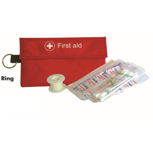 First Aid Kid with Key Ring